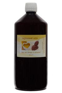 1 liter Lijnzaad olie